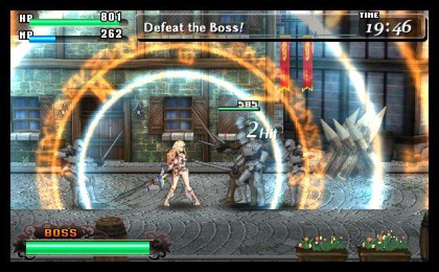 Das Pr�gelprinzip orientiert sich am Saturn-Klassiker Guardian Heroes und reichert dies mit leichten Rollenspiel-Elementen an.