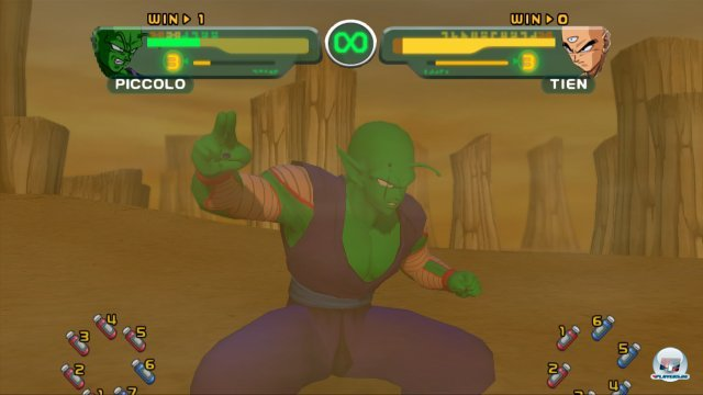 Screenshot - Dragon Ball Z Budokai HD Collection (PlayStation3) 2373707