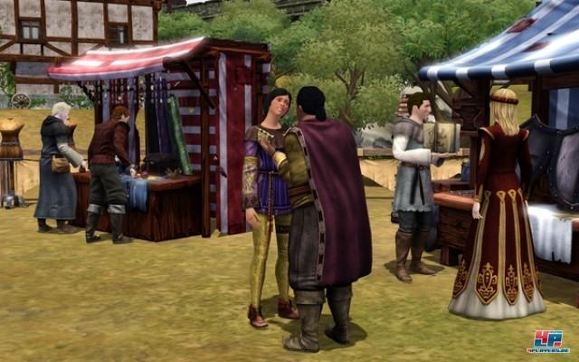 Screenshot - Die Sims Mittelalter (PC)
