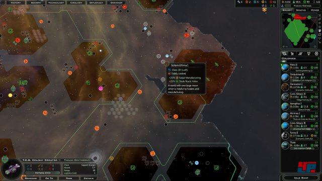 Das Erweitern des Einflussbereichs kann den Sieg bedeuten - genau wie militärische Siege oder das Bündis mit einem mächtigen Alliierten.