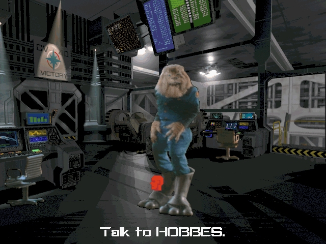 <i>Wing Commander 3: The Heart of The Tiger</i><br><br>Hobbes ist ein Verräter! 1743878