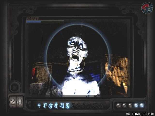Kampfbildschirm: Als erstes muss die Seele in den Focus der Kamera gebracht werden.