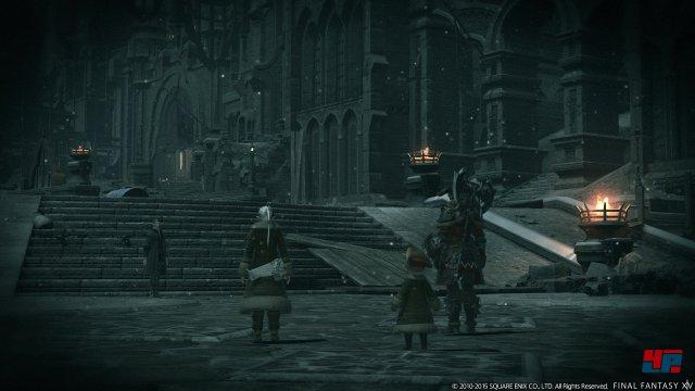 Mit Heavensward �ffnen sich erstmals die Tore der heiligen Stadt Ishgard.