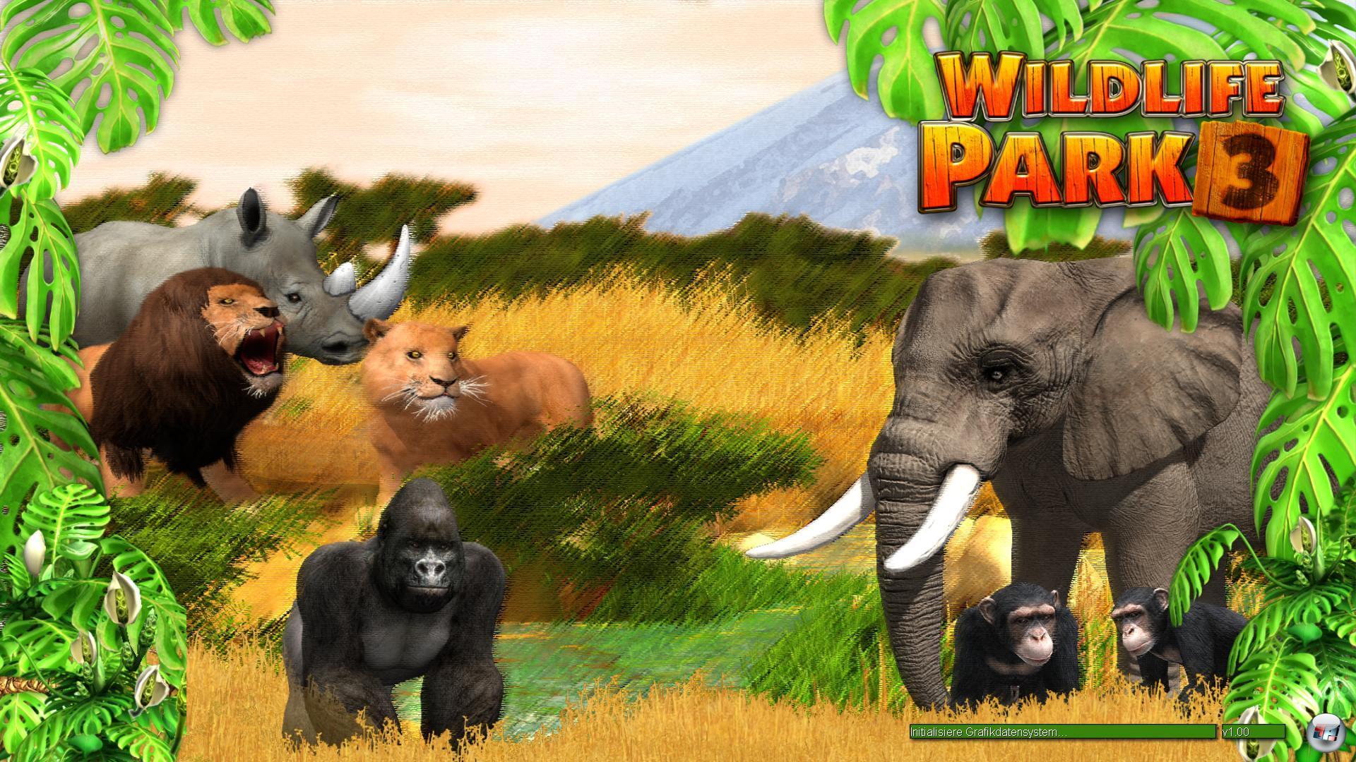 screenshots zu wildlife park 3 alles zum simulation spiel wildlife park 3. Black Bedroom Furniture Sets. Home Design Ideas