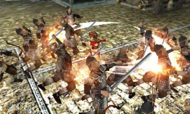 Screenshot - Dynasty Warriors VS (3DS)
