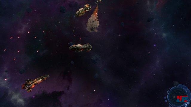 Es ist ausgesprochen befriedigend, wenn die selbst erstellte Flotte einen Sieg erringt.