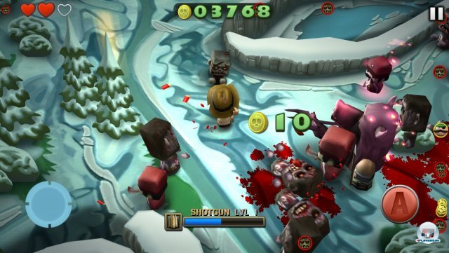 Screenshot - Minigore 2: Zombies (iPhone)