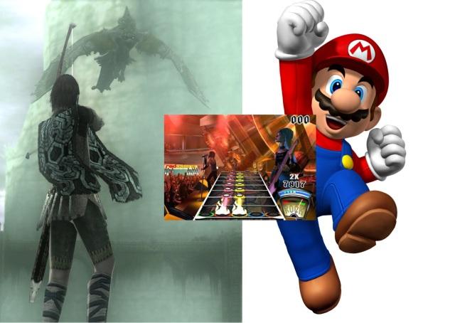 Jahr 2006: <br><br> Unterschiedlicher könnten die drei Spiele wohl kaum sein, die sich mit 92% die Höchstwertung des Jahres 2006 teilen: Da wäre zum einen New Super Mario Bros für den DS, mit dem Nintendo erneut unter Beweis stellte, dass sie die unangefochtenen Meister des Hüpfspiel-Genres sind. Mit Guitar Hero brachten Harmonix und Red Octane dagegen den Takt unter den Musikspielen vor und läuteten damit einen neuen Trend in der Videospielbranche ein. Und dann wäre da noch Shadow of the Colossus mit seinen gigantischen Kreaturen und der allgegenwärtigen Melancholie. 2182943