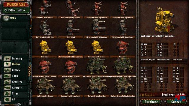 Screenshot - Warhammer 40.000: Armageddon - Da Orks (iPad) 92531381