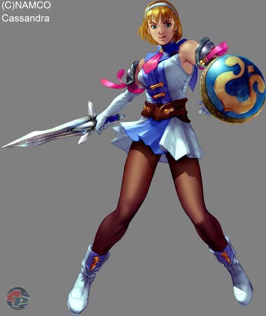 Cassandra ist die j�ngere Schwester von Sofitia, und hat den Kampf zur Zerst�rung des SoulEdge-Schwert �bernommen.  18576