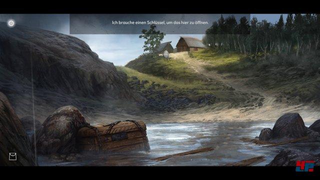 Man strandet als Mädchen auf einer einsamen Insel vor der Küste Norwegens.