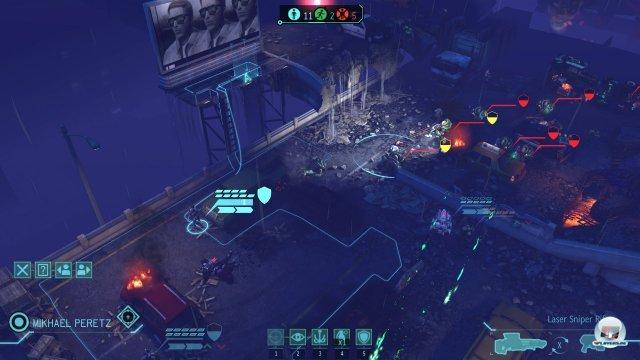 Im Mittelpunkt stehen spannende Kämpfe gegen die Außerirdischen. Zwei Aktionen darf jeder Soldat pro Runde ausführen: Bewegen und Schießen oder das Nutzen eines Ausrüstungsgegenstands.