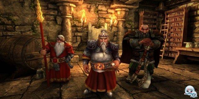 <b>Might & Magic X Legacy (noch kein Termin) </b> <br><br> Der PC-Titel Might & Magic X Legacy wurde erst vor kurzem von Ubisoft angekündigt. Entwickelt wird er von Might & Magic-Fans unter der Leitung des deutschen Studios Limbic. Das rundenbasierte Einzelspieler-Abenteuer orientiert sich spielerisch am erfolgreichen Croudfunding-Titel Legend of Grimrock. Es können Dungeons, Städte sowie Labyrinthe erkundet und allerlei Quests absolviert werden. Zu den wählbaren Fraktionen gehören Menschen, Orcs, Elfen und Zwerge - jede Rasse soll drei unterschiedliche Charakter-Klassen mit individuellen Fertigkeiten bieten. 92459007