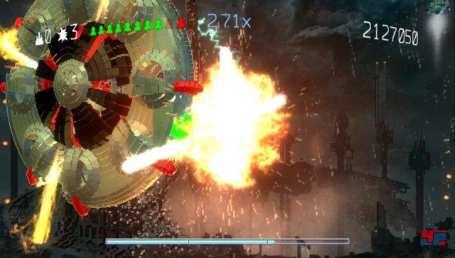 Das Feuerwerk sieht auch auf PS3 und Vita spektakulär aus.