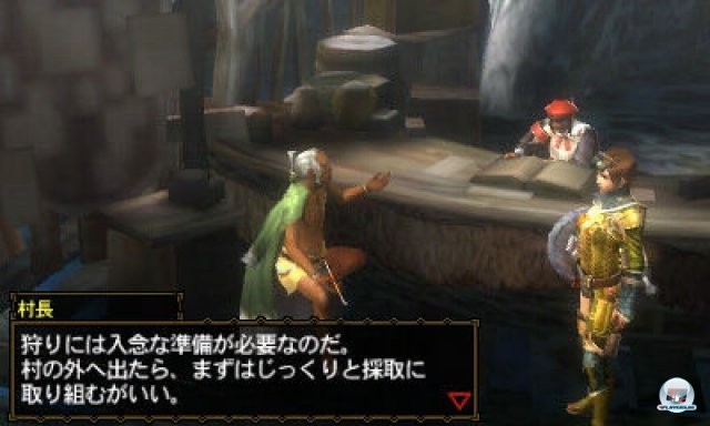 Screenshot - Monster Hunter 3G (3DS) 2273947