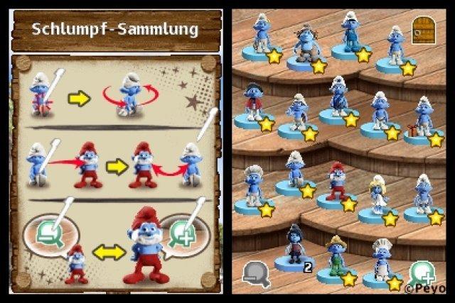 Screenshot - Die Schl�mpfe 2 (NDS)