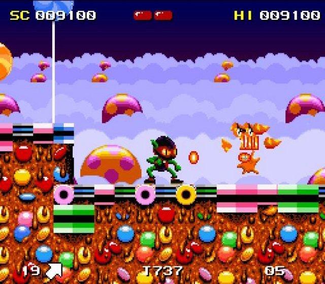 Sonic oder Zool? Das rasante Flitzen durch kunterbunte Levels beherrschten beide sehr gut.