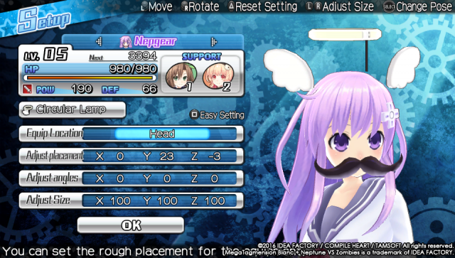 Screenshot - MegaTagmension Blanc   Neptune VS Zombies (PS_Vita) 92525115