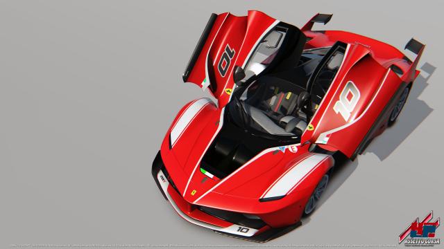 Der Ferrari FXK feiert in der Konsolen-Version seine Premiere, wird aber auch für den PC umgehend nachgereicht.