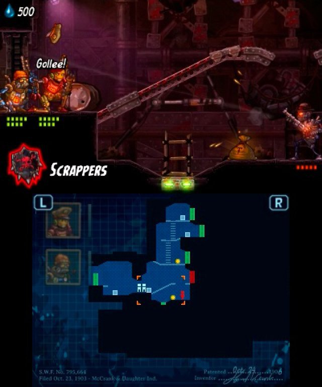 Screenshot - SteamWorld Heist (3DS)