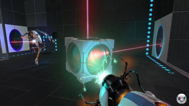 Mit den Entmutigungs-Umlenkungs-Würfeln verändert man die Richtung von Laserstrahlen.