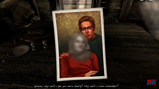 Warum kann die Hauptfigur das Gesicht ihrer Liebsten auf Erinnerungsfotos nicht mehr erkennen?