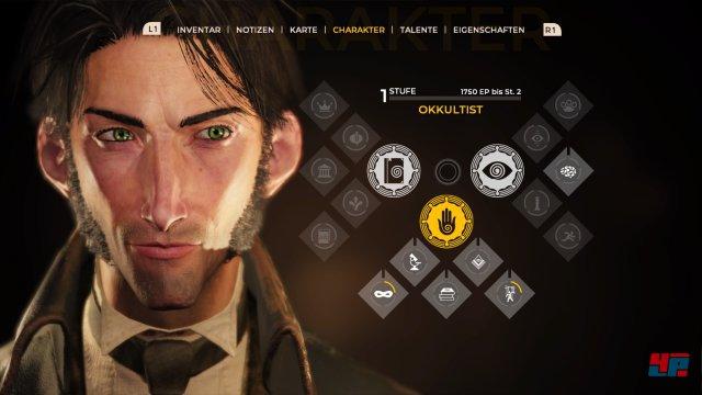 Die Charakterentwicklung ist angenehm frei und bietet viele Optionen.