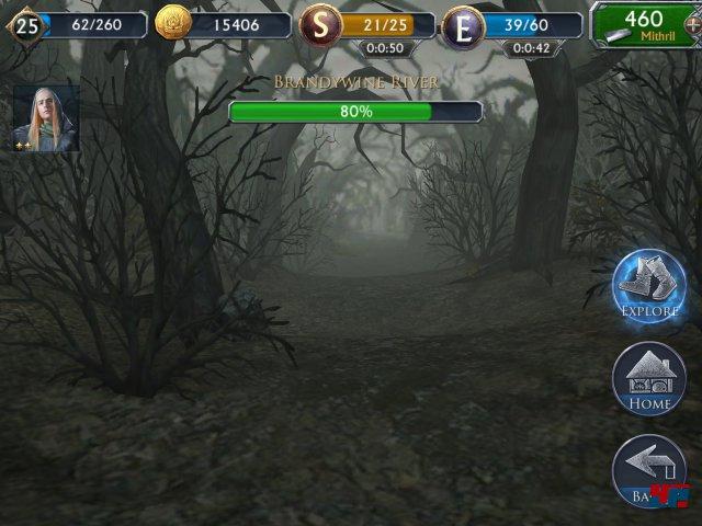 Screenshot - Der Herr der Ringe: Legenden von Mittelerde (Android)