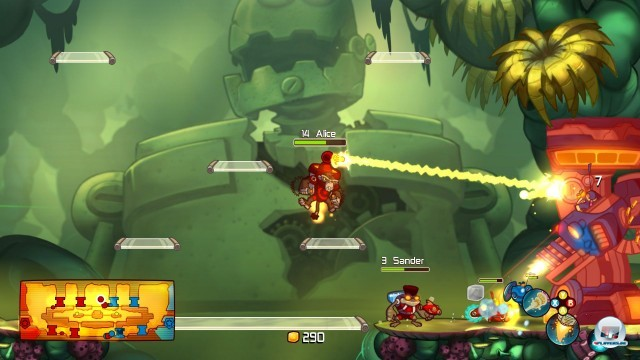 Screenshot - Awesomenauts (PlayStation3) 2244487