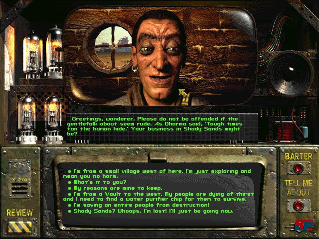 Screenshot - Fallout: A Post Nuclear Role Playing Game (PC)