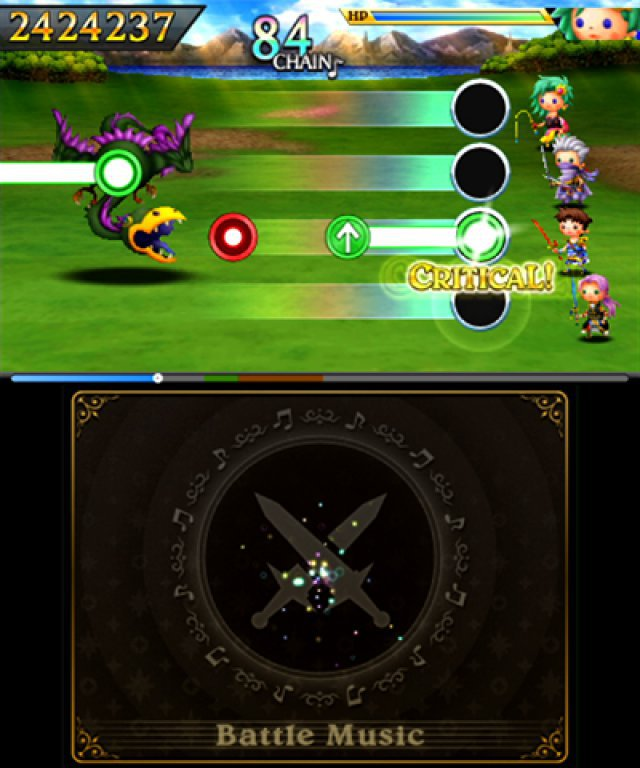 Screenshot - Theatrhythm: Final Fantasy - Curtain Call (3DS)