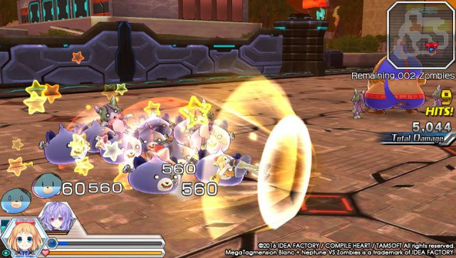 Screenshot - MegaTagmension Blanc   Neptune VS Zombies (PS_Vita) 92525096