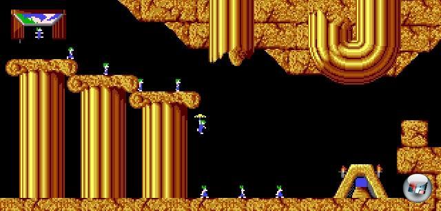 Im Februar 1991 bahnte es sich unter der Flagge von Psygnosis (die eine frühe Version des Spiels als uninteressant ablehnten) seinen Weg in die Läden - und damit ratzfatz auch in die Herzen der Spieler. Ursprünglich ein reines Amiga-Spiel, wurde es sehr schnell auch für PC und Atari ST umgesetzt. Von da aus ging es weiter auf so ziemlich jede Plattform der 90er, die mit Nullen und Einsen umgehen konnte - das Spiel wurde auf über 30 Plattformen portiert! U.a. wurden das 3DO, das Amiga CD32, Nintendos NES und Game Boy sowie Philips' glückloses CDi-System verlemmingisiert. Es gab sogar ein Lemmings-LCD-Game, das aber naheliegenderweise mit dem Originalspiel kaum noch etwas zu tun hatte. Was nur wenigen Plattformen vorbehalten blieb: Der großartige Multiplayermodus. Sauerei! 2202927