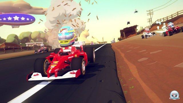 Screenshot - F1 Race Stars (360)