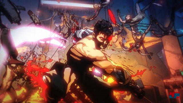 Blutig: In Yaiba: Ninja Gaiden Z wird mit Lebenssaft nicht gespart.