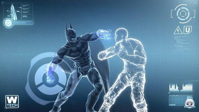 St�rker dank Armored Suit: Ist der Anzug aufgelafen, schl�gt der Held noch heldenhafter zu.