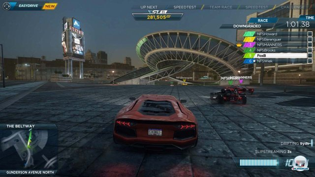 Screenshot - Need for Speed: Most Wanted (Wii_U)