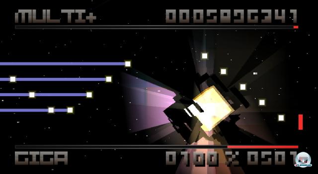 Ausgerechnet das coole Flux steuert sich auf Wii zu ungenau für ein schnelles Reaktionsspiel.