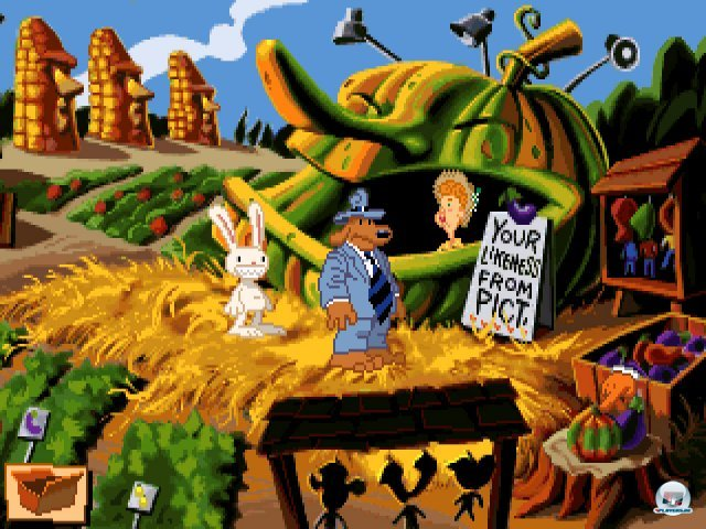 Screenshot - Sam & Max Hit the Road (PC) 92431892