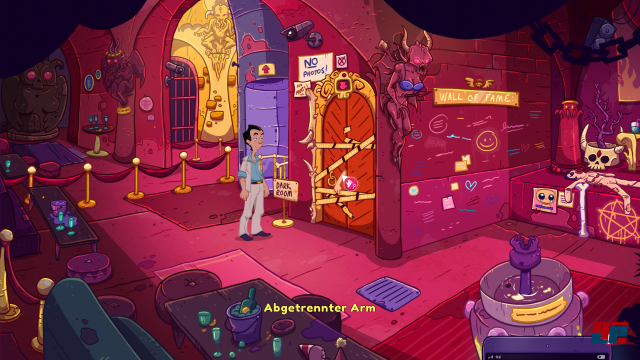 Screenshot - Leisure Suit Larry - Wet Dreams Don't Dry (Mac)