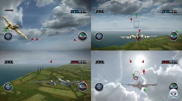 Screenshot - Combat  Wings: The Great Battles of World War II (Wii) 2240284
