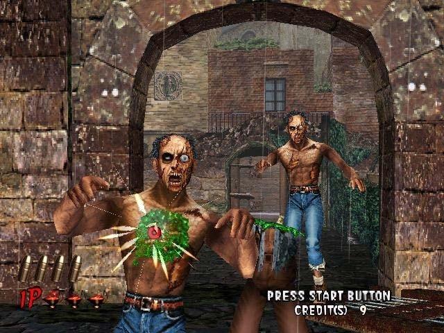 <br><br>Lightgun-Shooter hatten in Deutschland schon immer einen schweren Stand und so landete auch House of the Dead 2 trotz Anpassungen in Form von gr�nem Zombie-Blut bei uns auf dem Index: Wer die Perle trotzdem sein Eigen nennt, der wei�, dass man nicht nur in der Spielhalle, sondern auch auf Segas Heimkonsole seinen Spa� damit haben konnte - vornehmlich mit zwei Lichtpistolen im Koop-Geballer. �berhaupt waren Fans des Genres mit der Dreamcast gut bedient: So ver�ffentlichte Sega gegen Ende mit Confidental Mission eine weitere gelungene Umsetzung eines Spielhallenautomaten. 2068258