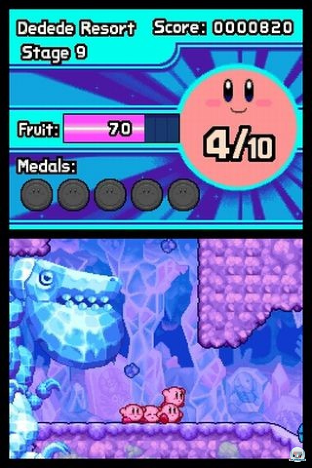 Screenshot - Kirby: Mass Attack (NDS) 2252022