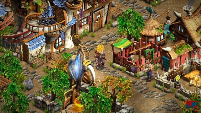 Screenshot - Rainbow Skies (PlayStation3)