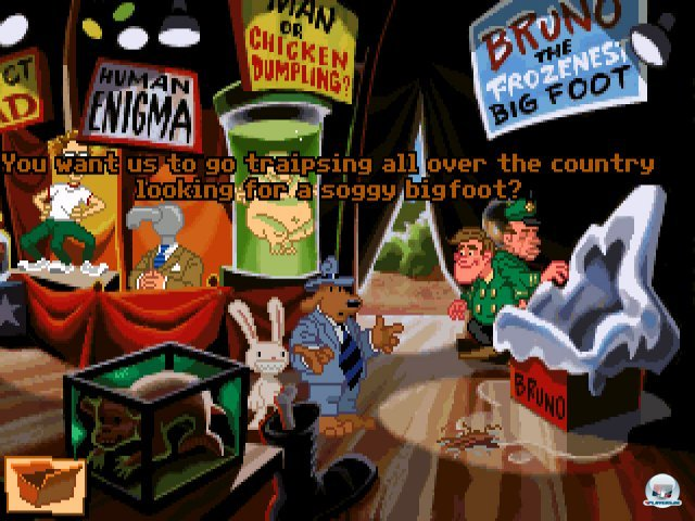 Screenshot - Sam & Max Hit the Road (PC) 92431612