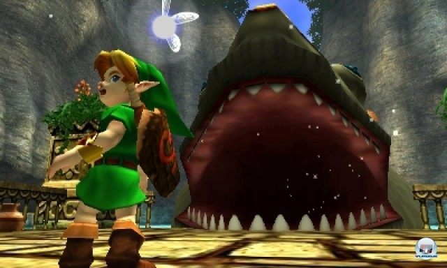 Screenshot - The Legend of Zelda: Ocarina of Time 3D (NDS) 2217003