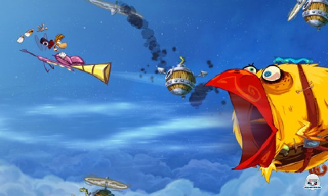Screenshot - Rayman Origins (3DS) 2367147