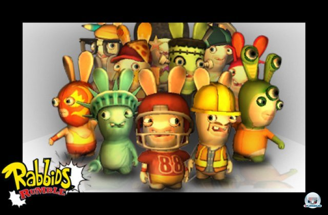 Screenshot - Rabbids Rumble (3DS) 92411267