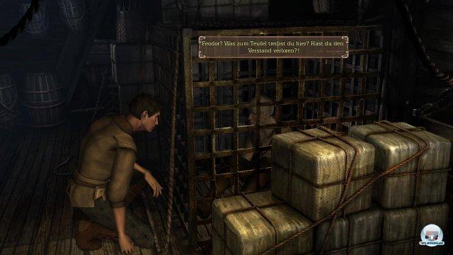 Die Vorbliebe für mystische Artefakte treibt seinen Bruder Ramon in die Fänge der Inquisition.