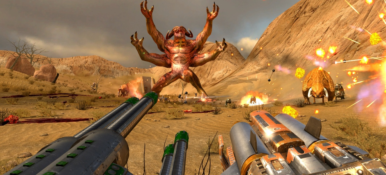 Serious Sam VR: The First Encounter (Shooter) von Devolver Digital, Croteam